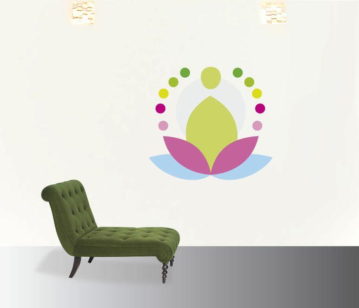meditacion #decoraconvinil #vinilosdecorativos #decoracion #decoratupared #yoga #meditacion