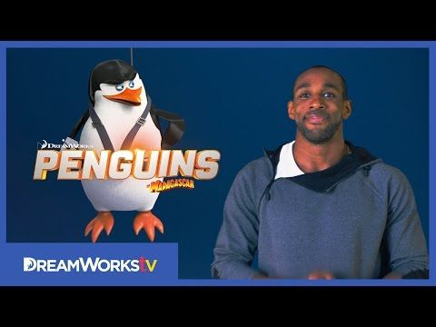 Do the Penguin Shake with tWitch | PENGUINS OF MADAGASCAR - YouTube