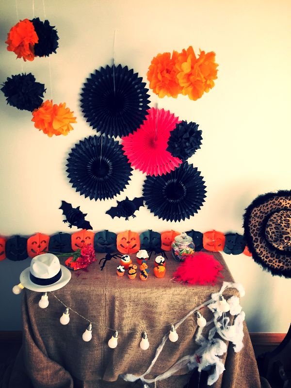 Halloween: Mesa de dulces / en www.apiopou.cl