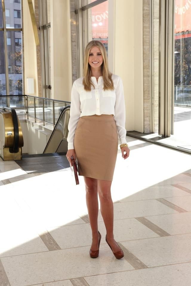 Work Style Ivanka Trump Fashion Inspiration Pinterest Style Classic And Workwear