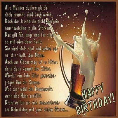 Gratulieren Zum Geburtstag Fur Mann