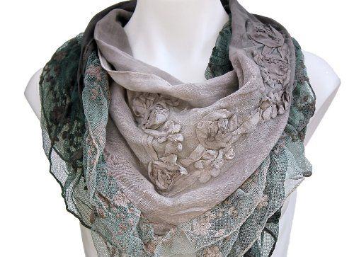 Terra Nomad Women's Vintage Inspired Soft Triangle Fashion Scarf w/ Rosettes & Sheer Lace Trim - Mauve Terra Nomad,http://www.amazon.com/dp/B009ETDQLS/ref=cm_sw_r_pi_dp_.xTntb1MHTKFWJMM