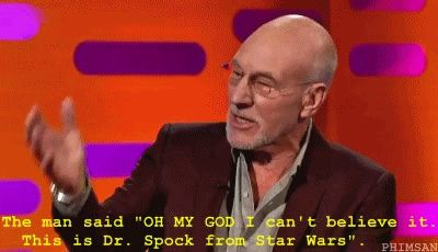26 Reasons To Love Patrick Stewart- definitely don't need 26 reasons but this is pretty fantastic