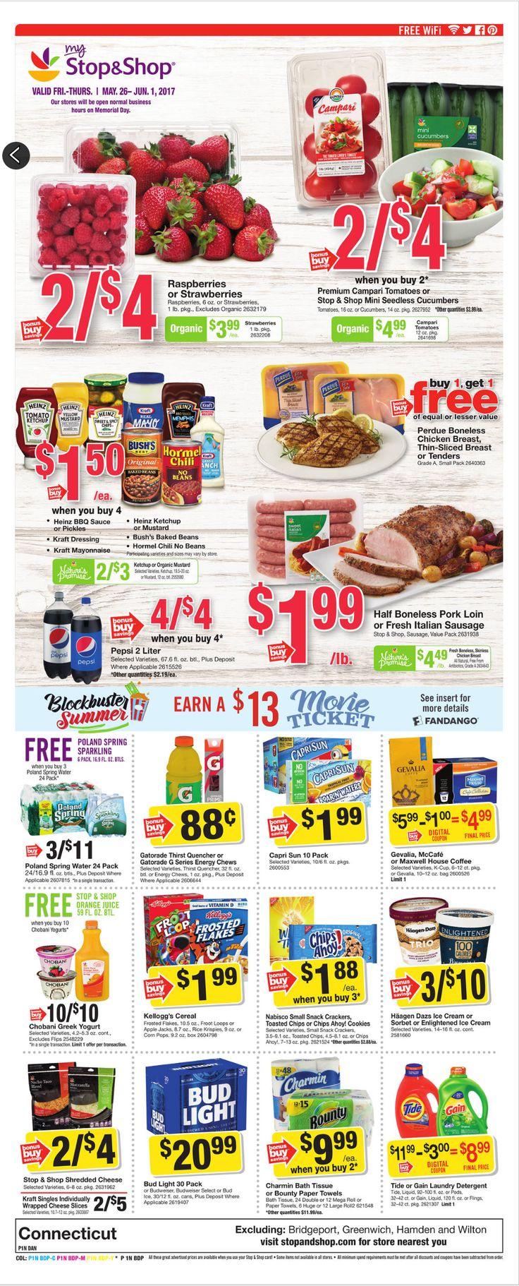 Stop and Shop Circular May 26 - June 1, 2017 - http://www.olcatalog.com/grocery/stop-and-shop-circular.html