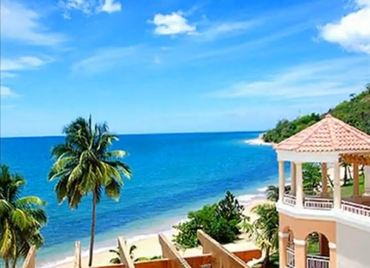 Puerto Rico's Rincon Beach Resort. No Passports needed if you are a United States Citizen. #Caribbean #PuertoRico #Beachfront