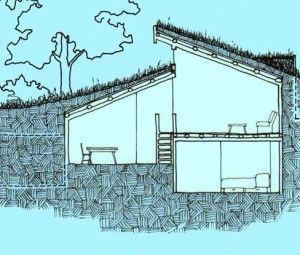 how to build an underground house starting - Earth Sheltered Greenhouse Plans
