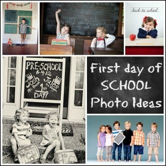 First day of School Photos ideas