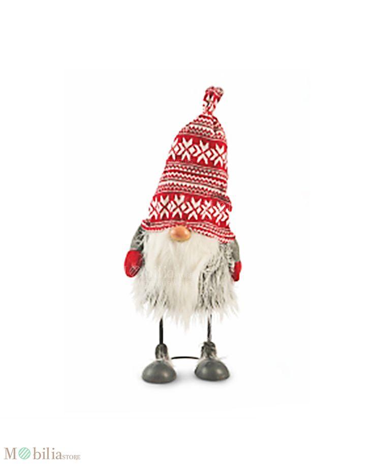 Gnomi con Gambe in Metallo, ideale come originale regalo di Natale, come accessorio decorativo da mettere nella cameretta dei tuoi bambini o vicino l'albero di natale, donando all'ambiente un tocco di allegria e originalità. Scoprili su Mobilia Store.