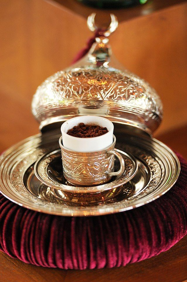 Grand Bazaar Istanbul, Turkish Coffee Serving Set, Turkish ...