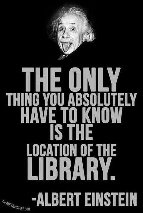 The only thing you absolutely have to know is the location of the library.