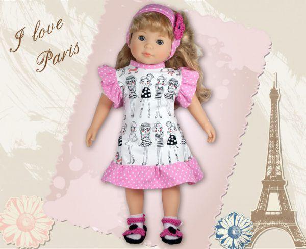 Puppenkleidung Gr. 46