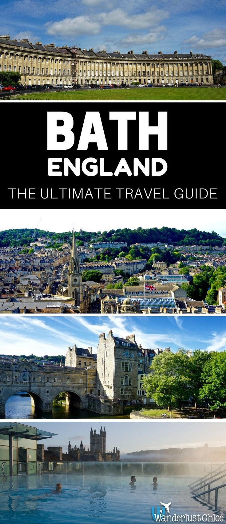 Bath, England: The Ultimate Travel Guide. Find out the top things to do, the best restaurants, hotels, and some insider information to help you plan your day trip or holiday to Bath in England.