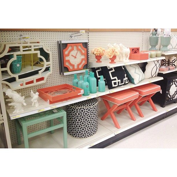 OHHH my sweet Lord coral and turquoise!  Photo by targetdoesitagain
