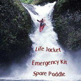 Must-have kayak equipment