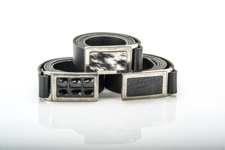 LEATHER BELTS DESIGNED WITH CROCODILE,OSTRICH AND NGUNI SKINS