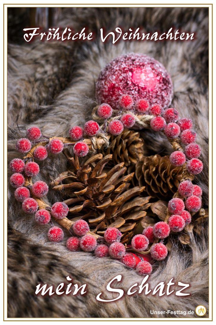Frohe Weihnachten Sprüche Für Mein Schatz.Schicke Deinem Schatz Ein Süßes Whatsapp Bild Zu Weihnachten Und