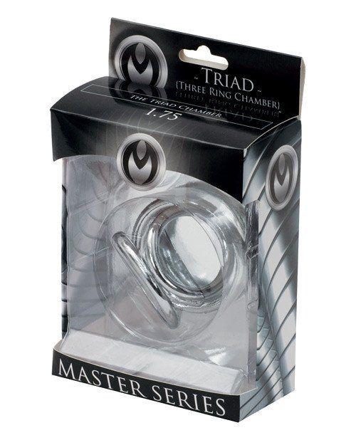 Master Series Triad Chamber Cock & Ball Cage Medium