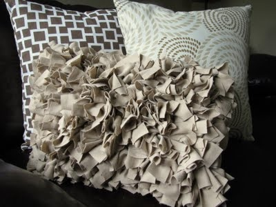 DIY Shaggy Pillow