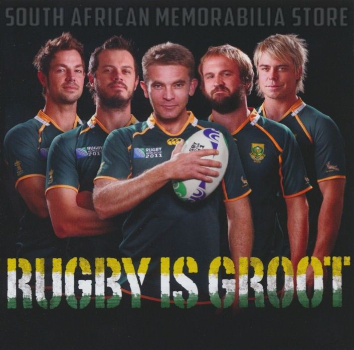 RUGBY IS GROOT - Bok Van Blerk Bobby Van Jaarsveld Jay - South African CD New