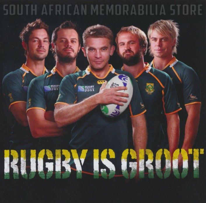 RUGBY IS GROOT - Bok Van Blerk Bobby Van Jaarsveld Jay - South African CD New