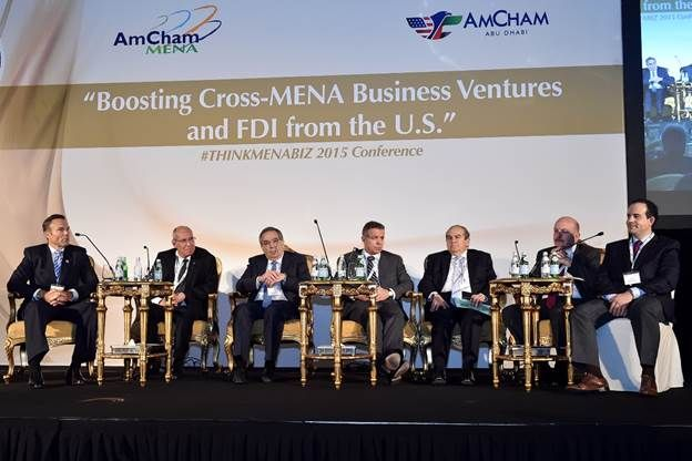 "2015 AmCham MENA Regional Council Conference ""Boosting Cross-MENA Business Ventures and FDI from the United States"" Leading business executives, entrepreneurs, thought leaders and government offici..."