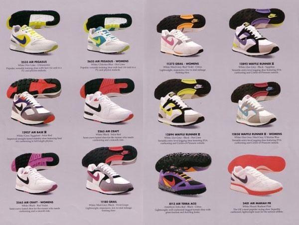 nike shoe catalog
