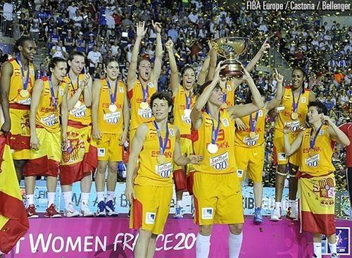 España, invicta, campeona de Europa de baloncesto femenino 2013