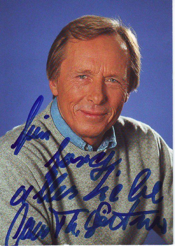 Claus Theo Gartner Widmung Foto Autogramm Promis Und Du Deutsche Schauspieler Schauspieler Filmstars
