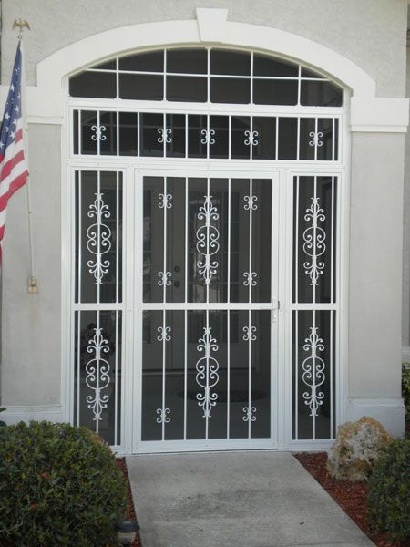 Beautiful Front Entry Screen Enclosures