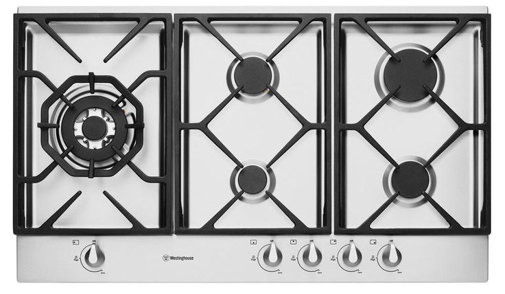 NEW Westinghouse 90cm Gas Cooktop WHG956SA
