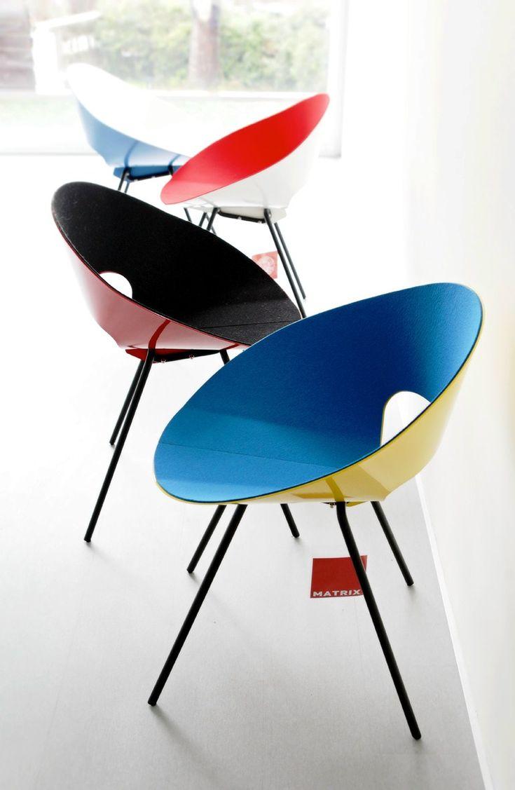Plate #chair KD04 by Matrix International | #design Donald R. Knorr (1948) @matrixint