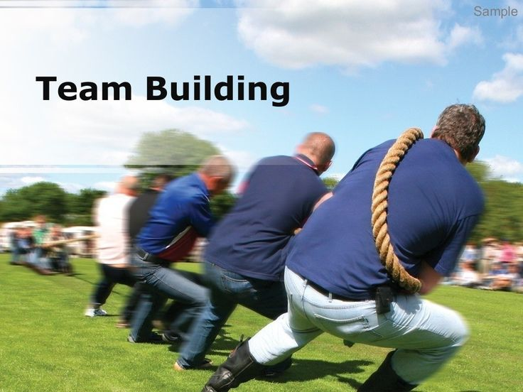 Team building  by Andrew Schwartz via slideshare
