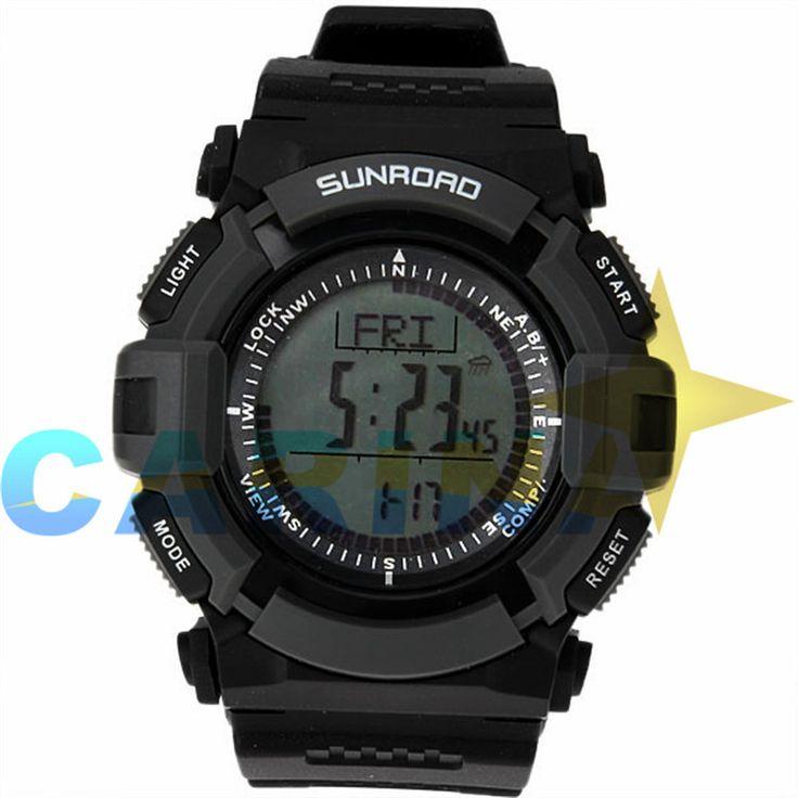 Часы Мужчины Цифровые часы Часы мужская Открытый Часы Рыбалка Погода Альтиметр Барометр Термометр Шагомер Шок Цифровые Часы