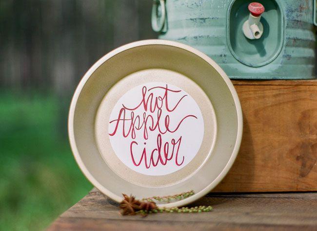 Rustic Fall Wedding Inspiration