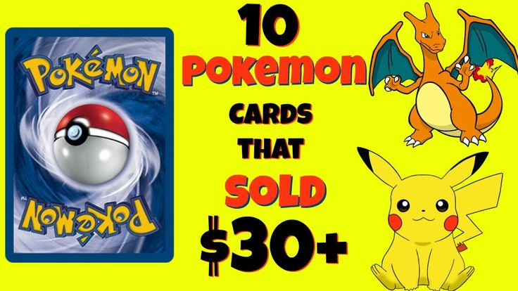 10 Pokemon Cards that Sold for $30+  What to Look For Valuable Pokemon C...