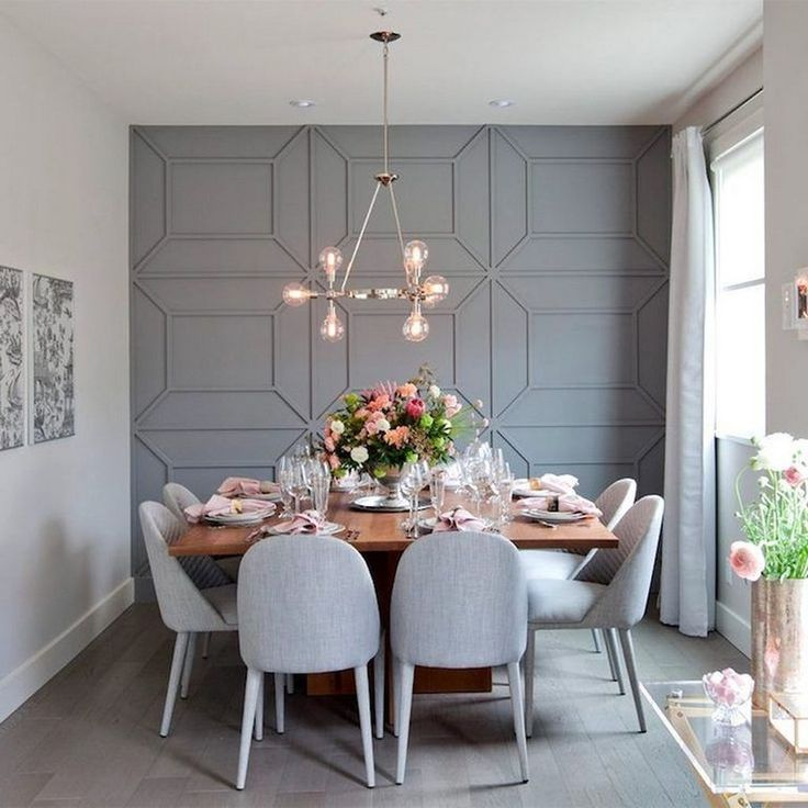 32 Stylish Dining Room Ideas To Impress Your Dinner Guests: 45+ Awesome Artsy Wall Painting Ideas For Your Home