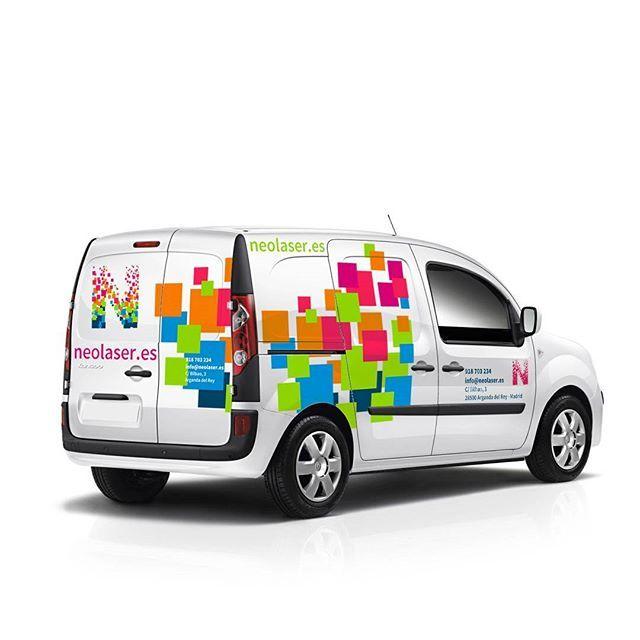 NEOLASER #vanwrap #design #diseño de #rotulacion de #vehiculos de #empresa para NEOLASER
