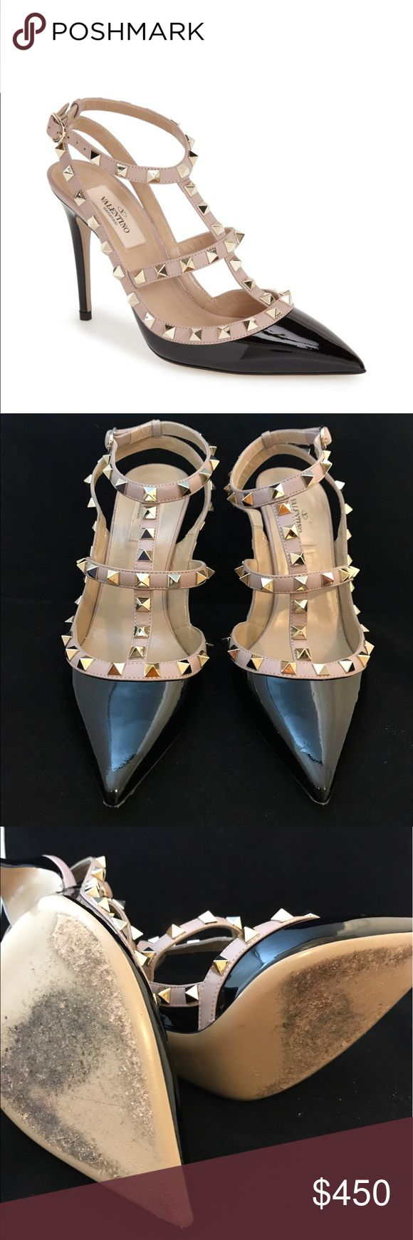 Authentic Valentino rockstud pumps As you can see pictured above has been lightly worn, some scratches on both heels but can barley be seen *it comes with dust bag* Valentino Garavani Shoes Heels