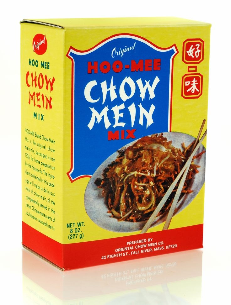 Hoo-Mee Chow Mein, Chow Mein Noodles/Gravy, New England Favorites
