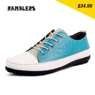 Check this product! Only on our shops New Fashion Autumn Men Shoes Leather Flats Lace Up Patchwork Zapatillas Hombre Casual Daily Footwear Soft Mocassim Masculino - US $34.99 http://globalselling5.com/products/new-fashion-autumn-men-shoes-leather-flats-lace-up-patchwork-zapatillas-hombre-casual-daily-footwear-soft-mocassim-masculino/