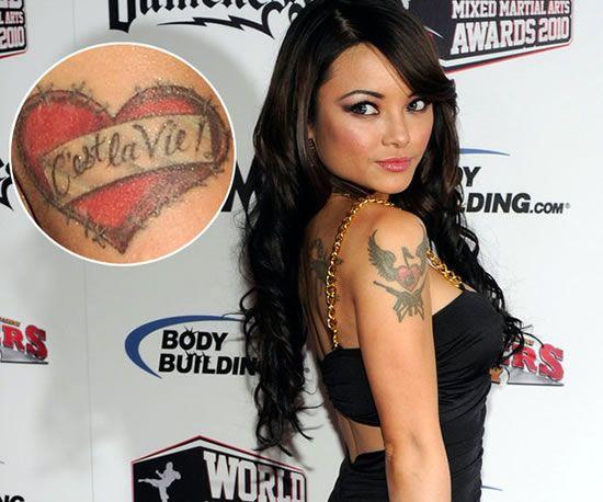 Top Celebrity Tattoos
