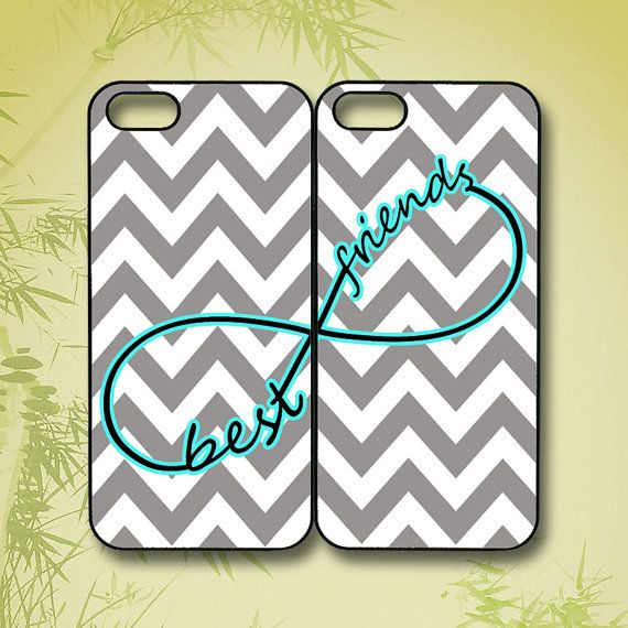 chevron Best Friends iphone 4 case iphone 5 case ipod 5 by JYCASE