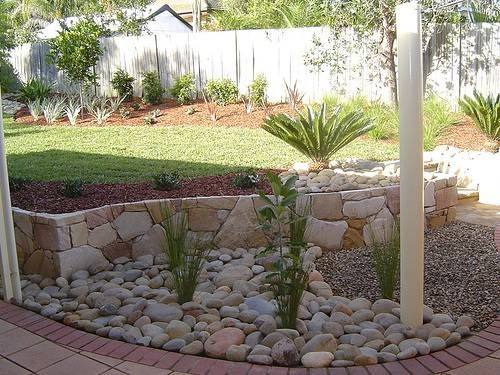 Best 25+ River rock gardens ideas on Pinterest Landscaping with