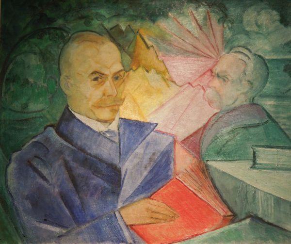 Portret doktora Jakóbca - Leon Chwistek