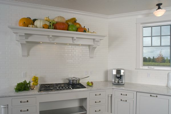Det Tile Provided The 2x8 And 2x4 Matte White Tile For The