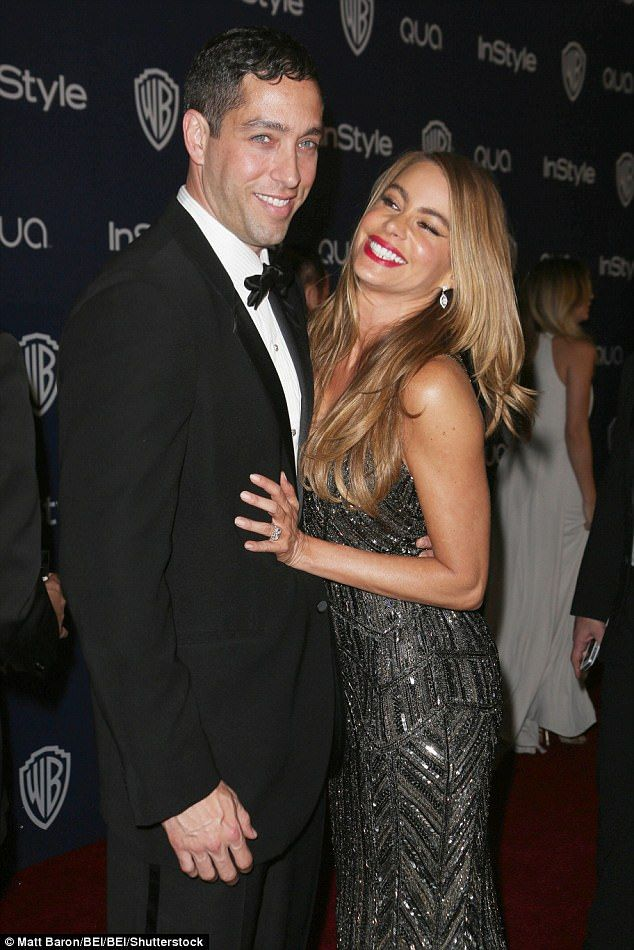 Legal drama: Sofia Vergara has been been locked in a legal battle with her ex-fiance Nick Loeb - attempting to have him officially blocked from taking control of her frozen embryos - and now a new letter lifts the lid on the couple's fiery romance