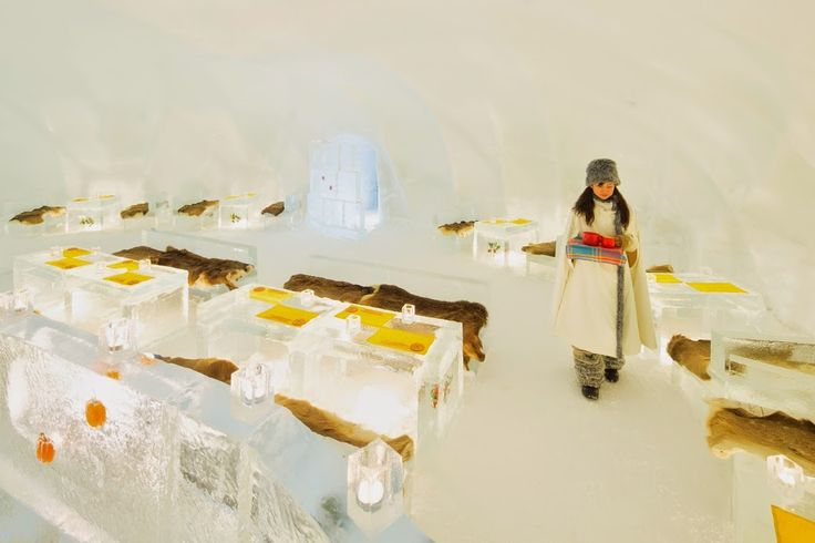 Ice Restaurant at Tomamu's Ice Village