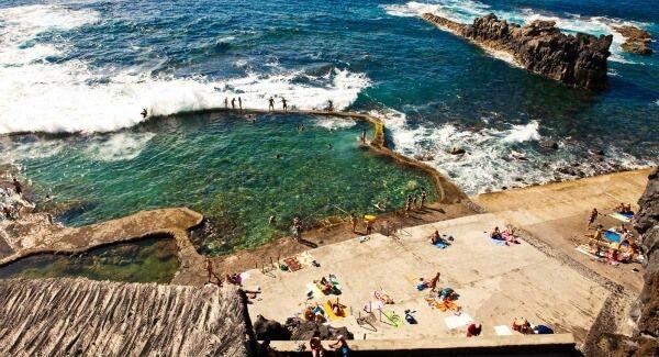 Playa de La Maceta (El Hierro, Islas Canarias)