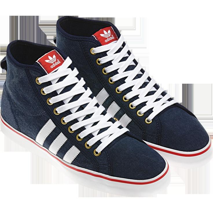adidas Nizza Hi Cl Colour dark indigo / light scarlet / white