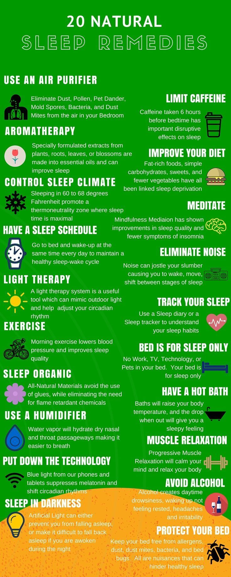 Ready to get a good night's sleep naturally? Here's how!